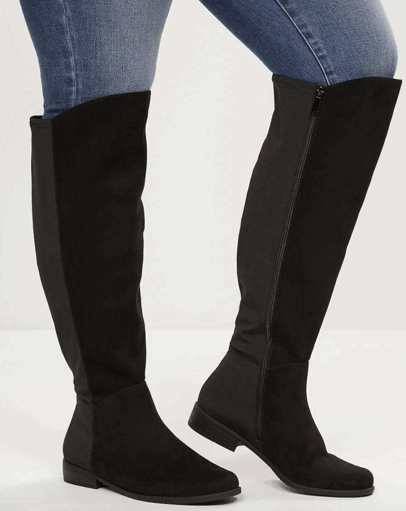 look good shoes sale latest online shop Plus Size Thigh High Wide Calf Boots - Ready To Stare