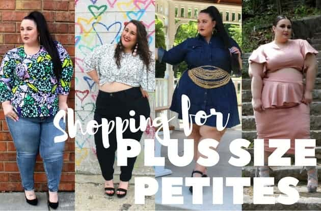 Shopping for Plus Size Petite Jeans and Clothing Online ...