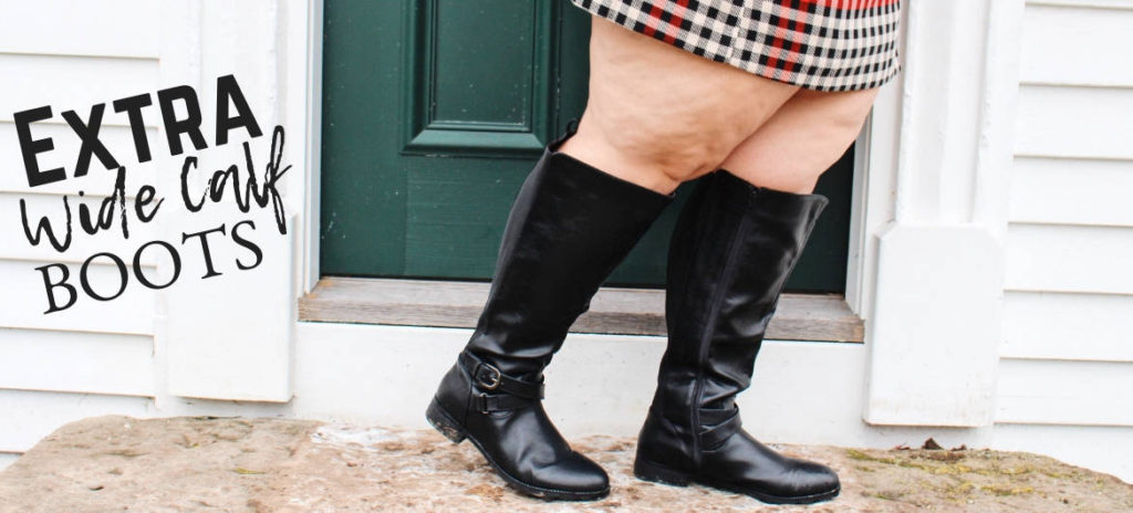 8d689319996 Plus Size Extra Wide Calf Boots - Ready To Stare