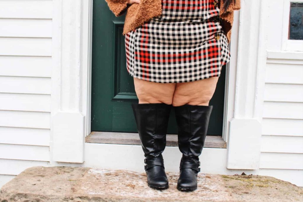 Plus Size Extra Wide Calf Boots - Ready