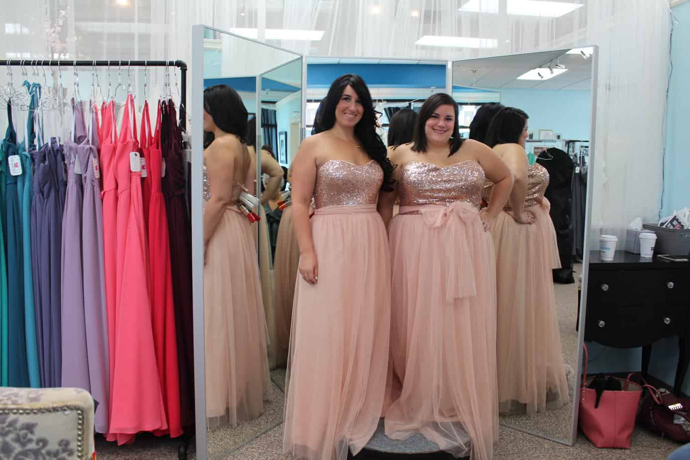 Shopping for Plus Size Bridesmaid Dresses - Ready To Stare